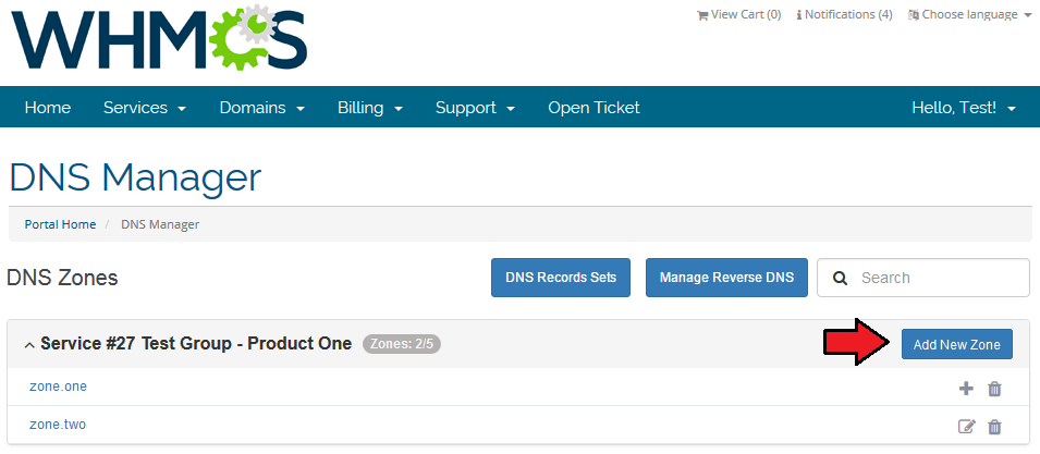 dns manager 2